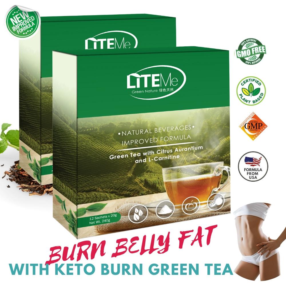 Lite Me 24 Day Keto Burn Green Tea 20g X 24s