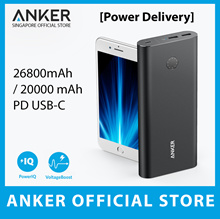 ⚡Power Delivery⚡Anker Powercore+ 26800mah / PowerCore Speed 20000 PD USB-C PowerBank 100% Authentic