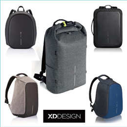 XD Design Bobby Original/Compact/Bizz/Urban/Elle  Men/Women Backpack Anti-Theft Laptop Backpack