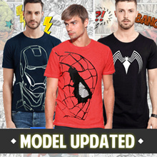 Fantasia T-Shirt Men My Heroes - 2018 Collections Update