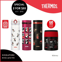 Thermos® Disney Singapore Exclusive Local Design Series[Buy 2 for $55]