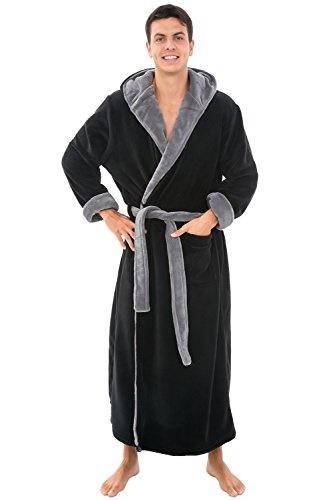 6e70ff8899 Qoo10 - Del Rossa Mens Fleece Robe