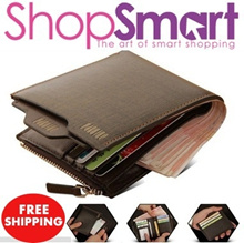 **GIFT PACKING** Best Gift for him* Spain Genuine Cowhide Leather Men Wallets|Premium Quality 100%