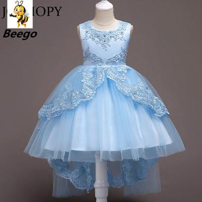 Flower Girl Dress For Wedding Baby Girl Teenage Birthday Outfits Trailing Children Girls Dresses Gi