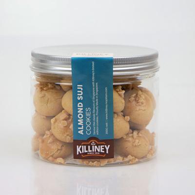 Almond Suji Cookies