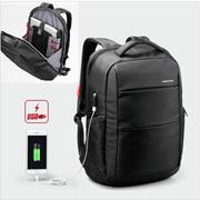 c07bbcef0bb5 Large capacity traveling computer pack Trendy backpack mens double shoulder  bag hidden inside