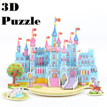 Party goodies bag/3D puzzle children/3d jigsaw puzzle Birthday gift/ DIY building model /Doorgift