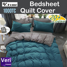 Re-stocked!【Premium Thicker Material Bedsheet/Quilt cover/Pillow Bolster case】