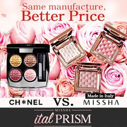 [MISSHA] ITALPRIZM Eyeshadow and Lipstick★2017 S/S Season Added★Trend Colors★Channel★
