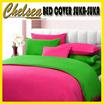 BED COVER SET SUKA SUKA ~EXPRESIKAN WARNA BED COVER MU DENGAN BAHAN MICROTEX MOTIF FULL COLOR POLOS ~ Warna Tidak Luntur ~ Hanya sprei saja tidak termasuk bed cover