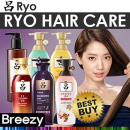 BREEZY★ [RYO] Hit Item Collection / Korean No.1 Hair Care Brand / Jayang / Hambit / Heuk-un / Cheon