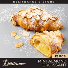 Delifrance Bundle of 12 Mini Almond Croissants