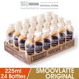 NESCAFE Smoovlatte Original 24 Bottles 225ml