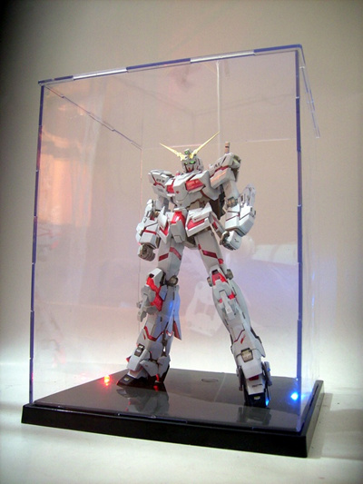11 Inch Acrylic Display Case Storage Action Figure Gundam Case 1:6 1/6