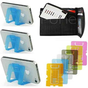 MINI MOBILE PHONE STAND Smart Wallet Credit Card Holder for Smart Phones Iphone 4 Iphone 5 iphone 6 ..