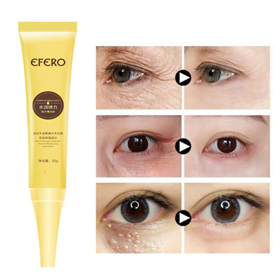 EFERO 2pcs Hyaluronic Acid Eye Cream Anti Puffiness Dark Circles Anti  Wrinkles Aging Collagen Eye Es