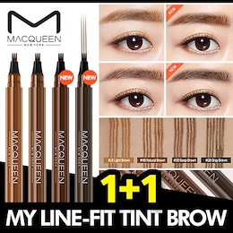 [MACQUEEN] ★1+1★ My Line-Fit Tint Brow / 4 Color
