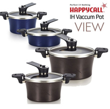 [Happycall]  The finest IH Vacuum pot_View Pot 2-Set / Can be used in induction / CookWare