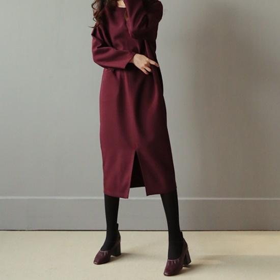 ビナイン語・プッシュワンピース 綿ワンピース/ 韓国ファッション