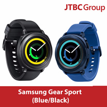 Samsung Gear Sport / Black / Blue / Water Resistant / Warranty 1 LOCAL SINGAPORE Year