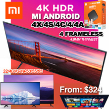 ❤Best seller❤$309★ HOT SALE ★ 1 yr warranty  Xiaomi Mi TV 4X/4S/4C/4/4A 32/40/43/50/55