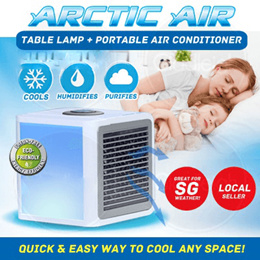 Artic Air Portable Air-conditioner / Water-cooling Air-cooler / Powered by USB