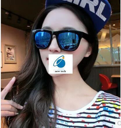 e5bde8ba9e8 Reflective yurt star models the influx of people retro large frame sunglasses  sunglasses for men and