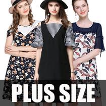 【11/7 New Arrivals】600+ style 2017 S-7XL NEW PLUS SIZE FASHION LADY DRESS OL work dress blouse