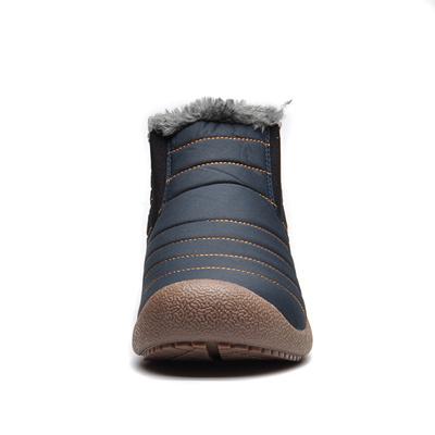 e727ce3697882 factory UPUPER Waterproof Men Winter Snow Boots Shoes Men Lightweight Ankle  Boots Plush Warm Slip-On