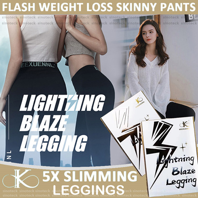 abbbf4260e89 KEEXUENNL Lightning Blaze Legging 5X  Slimming legging Slimming pants Burn  Fats Yoga