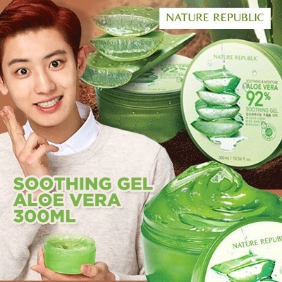 NATURE REPUBLIC ALOE VERA 92% SHOOTING GEL Deals for only Rp52.000 instead of Rp52.000