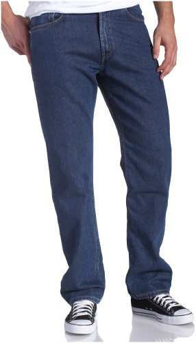 bfbcbed6 Qoo10 - Levi s Men s 505 Big Tall Straight Leg Regular Fit Jean ...