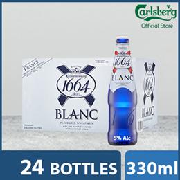 Kronenbourg 1664 Blanc Wheat Beer Pint 330ml ( Pack of 24 )