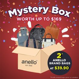 Anello JP x Q10 SUPERSALE  !!!!  MYSTERY BOX (GET ITEMS WORTH UP TO $169!)
