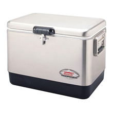 COLEMAN Coleman Icebox 54 Quarter Steel Belt Cooler