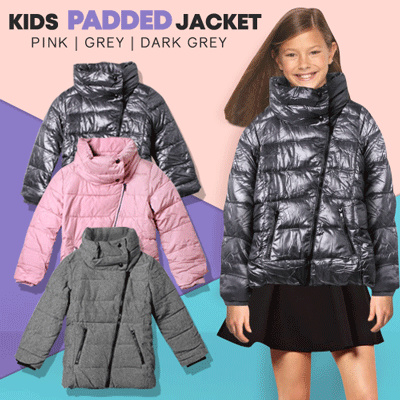 New Collection Padded Jacket For Kids Deals for only Rp125.000 instead of Rp125.000