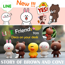 💗Red 💗BUY 2 GET 💗 Brown  Cony MOON Vinyldolls creative gifts