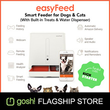 Gosh! easyFeed App-Enabled Automatic Smart Pet Feeder For Dogs And Cats!