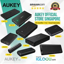 ★Official E-Store★ AUKEY 30000mAh / 20000mAh / 16000mAh / 10000mAh / 5000mAh P.D 3.0 or Q.C 2.0/3.0