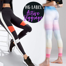 YOGA CAPRI SPORTS GYM PANTS YOGA PANTS EXERCISE SKIRT CAPRIS RUNNING PANTS LONG PANTS LOCAL SELLER