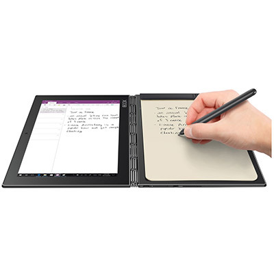 LenovoLENOVO YOGABOOK / Android Tablet / 64GB / Tablet PC / VAT with VAT /  day shipping / TABLET / Lineage M / Design Tablet / Gray