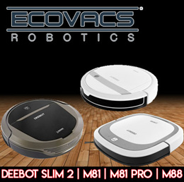 [NEW MODELS] ECOVACS DEEBOT Vacuum Cleaners | Slim 2 | M81 / Pro | M88 / Local warranty