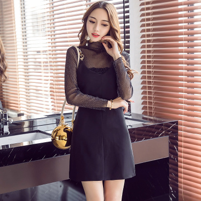 ツーピース キャミスカート セクシー 透視レースブラウス シンプル レディーズ女性 カジュアル ファッション 合わせやすい