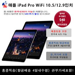 [관부가세 포함] iPad Pro 아이패드프로 10.5 / 12.9 inch/ Retina 레티나A10X Fusion 칩(64비트 아키텍처) M10 보조 프로세서 내장