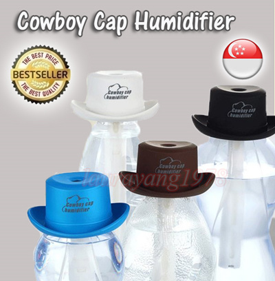 a5fabbd72ff Portable USB Cowboy Cap Humidifier 300ML Aroma Aromatheraphy Air Diffuser  Air Purification Humidifying ☆SG Seller