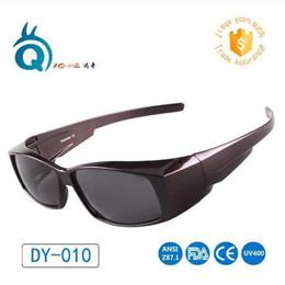Unisex Polarized Sunglasses Colorful Fit Over Glasses Polarized Cover Precription Wear Fit-over Eyeg