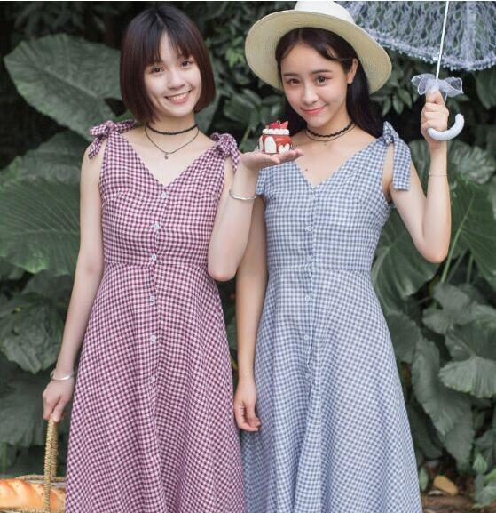 新作レディースワンピース韓国スタイル ノースリーブ チュニックリボン 森ガール デート旅行お出かけ