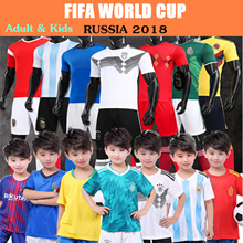 【Super Sale】2018 world cup sports wear/football jersey/Russia / Argentina / Spain / Germany / Italy