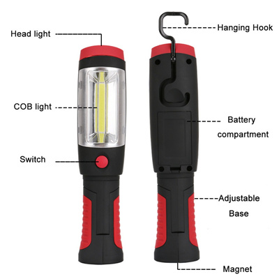 USB Rechargeable Outdoor Camping Light COB LED Waterproof Lamp 60000LM KS