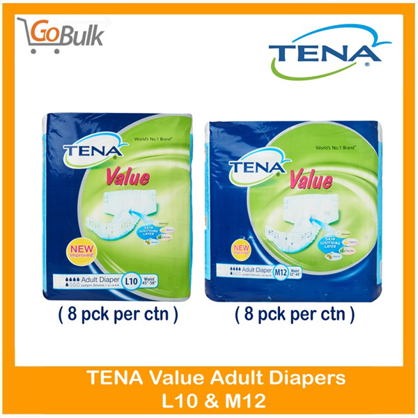 *Use Qoo10 Discount Coupon*TENA Value Adult Diaper Carton Deal Deals for only S$80.8 instead of S$0